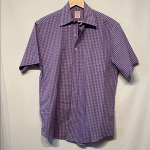 Brooks Brothers Shortsleeved Button Down Medium
